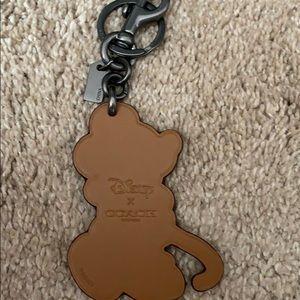 Coach Accessories - Coach Disney keychain Minnie Mouse brand new